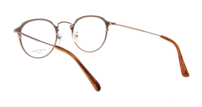 Oh My Glasses TOKYO Zoe omg-093-6-49 [メタル/鯖江産/丸メガネ/茶色]  2