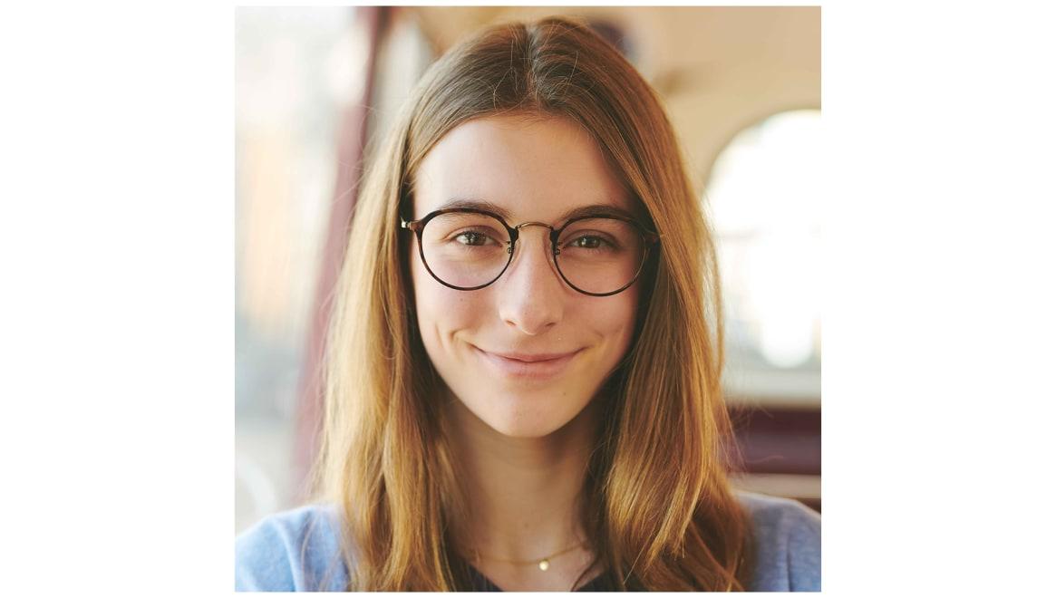 Oh My Glasses TOKYO Zoe omg-093-6-49 [メタル/鯖江産/丸メガネ/茶色]  5