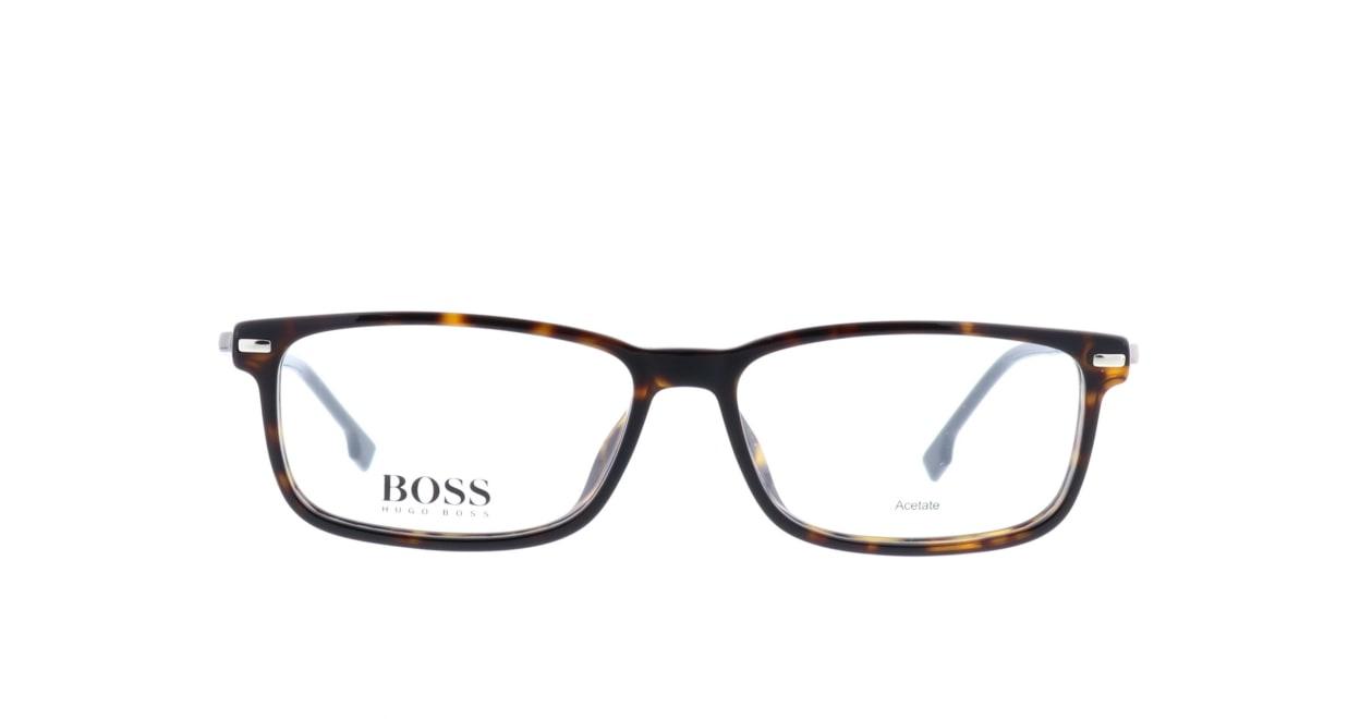 ヒューゴボス BOSS 0933-O86 [スクエア/べっ甲柄]