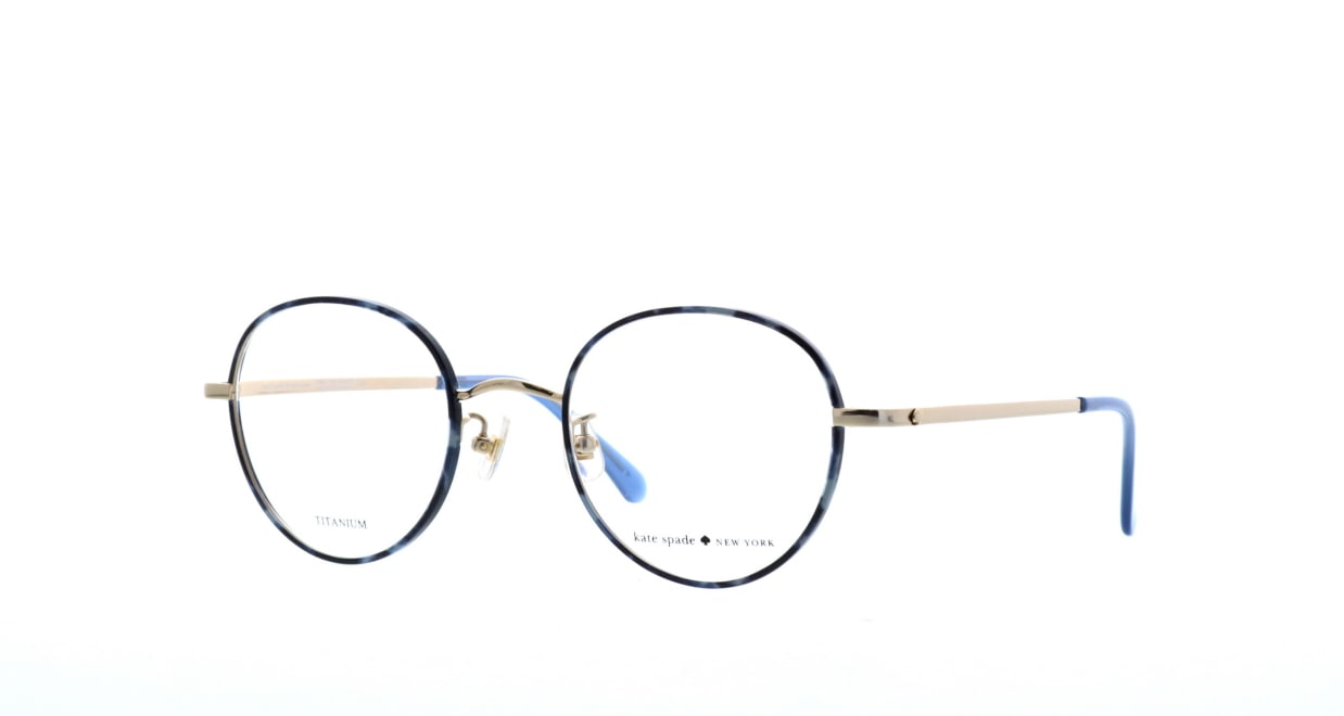 ケイトスペード HELKA/F-XP8 [メタル/丸メガネ/青]  1
