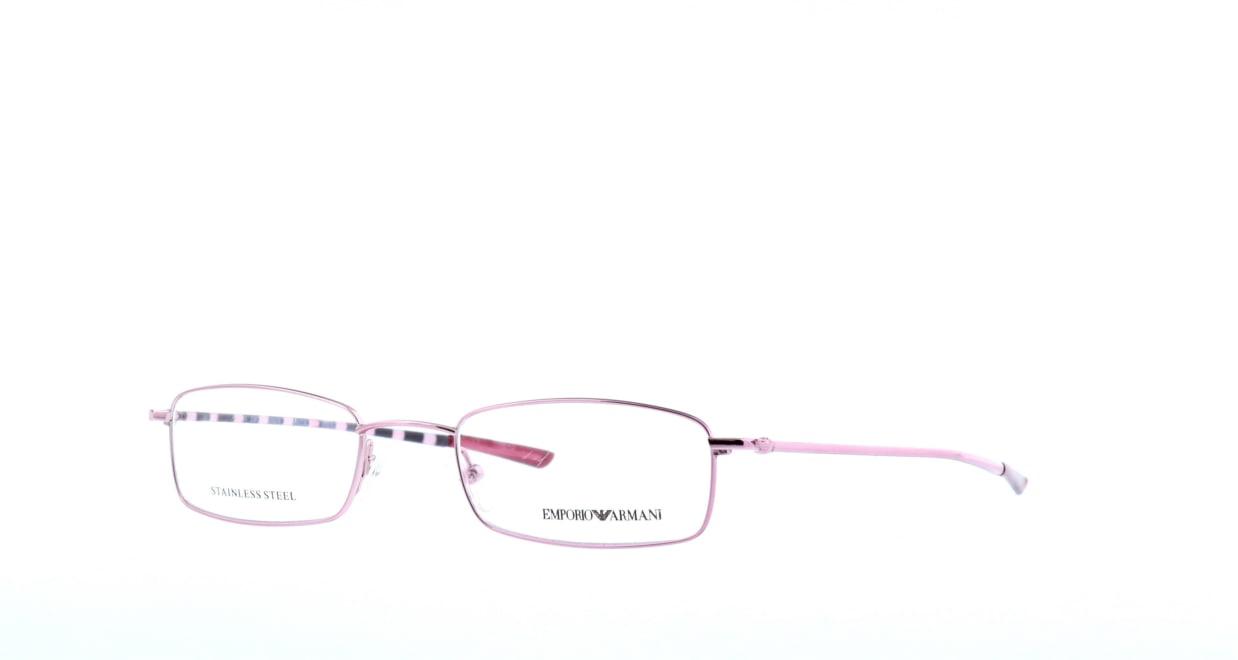 エンポリオアルマーニ 9128-p7j [メタル/スクエア/安い/ピンク]  1