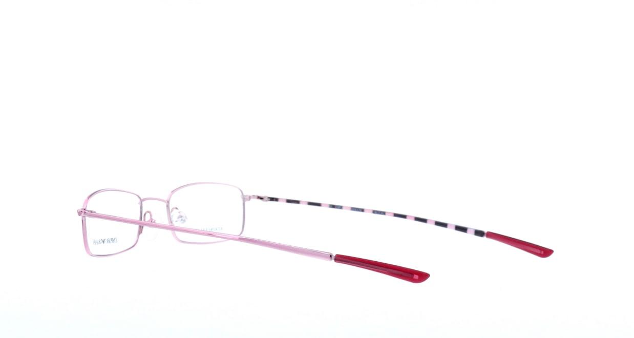 エンポリオアルマーニ 9128-p7j [メタル/スクエア/安い/ピンク]  3