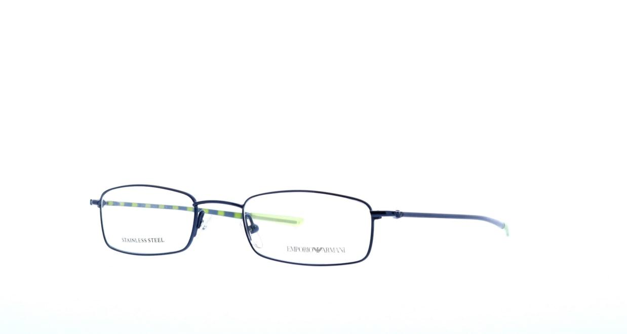 エンポリオアルマーニ 9128-p7k [メタル/スクエア/安い/青]  1