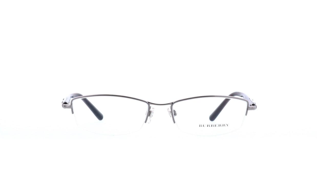 バーバリー BB1197-1110-54 [メタル/ハーフリム/スクエア/シルバー]