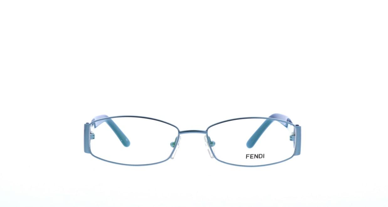 フェンディF925-442-53 [メタル/スクエア/青]