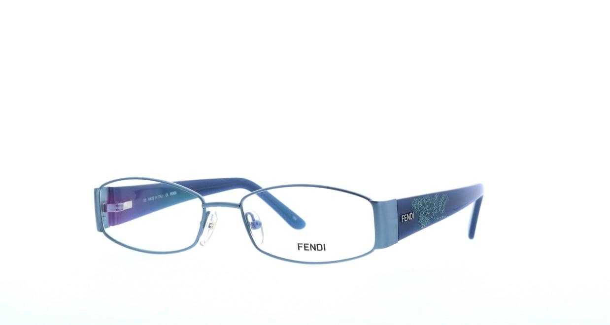 フェンディF925-442-53 [メタル/スクエア/青]  1