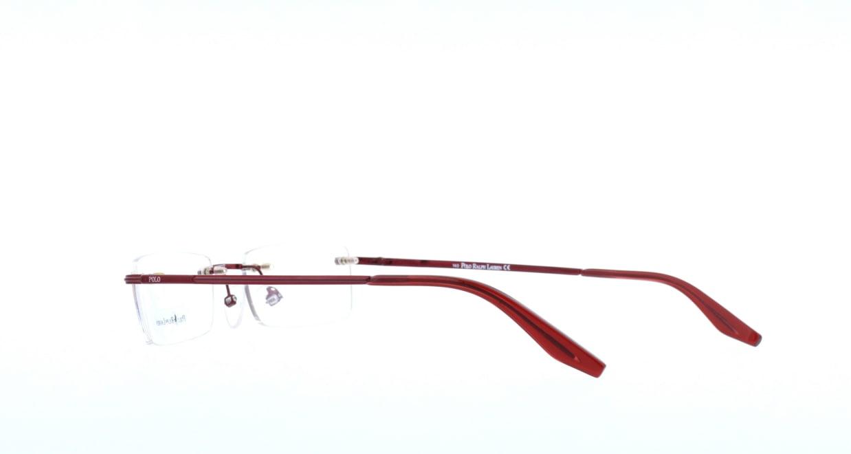 ポロ ラルフ ローレンPOLO1940-GKM-52 [メタル/縁なし/スクエア/赤]  3