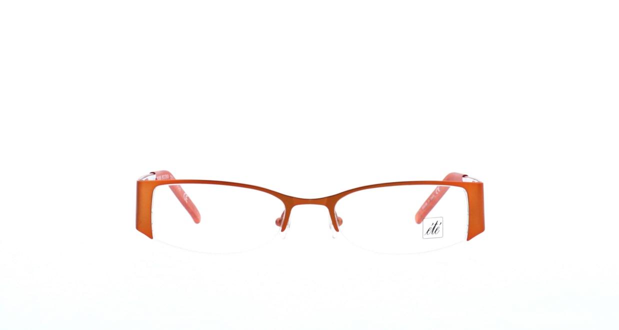 エテ molines-picchio [メタル/ハーフリム/スクエア/オレンジ]
