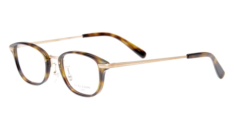 Oh My Glasses TOKYO Scott omg-091-24-15 [鯖江産/スクエア/べっ甲柄]  1