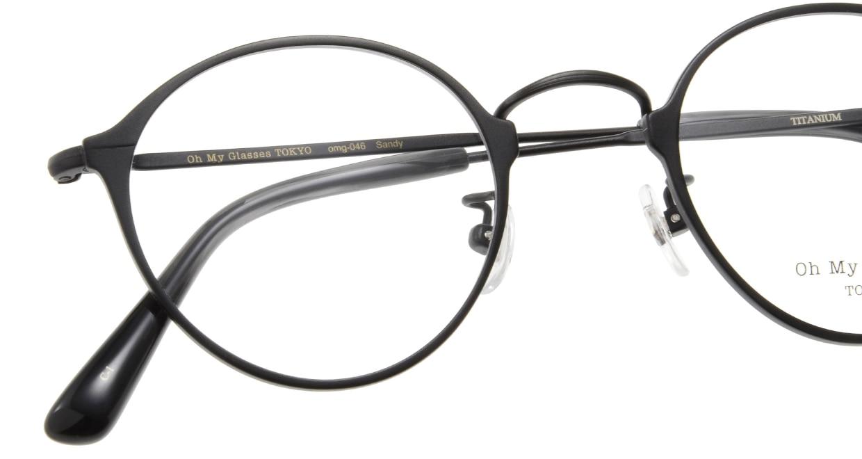 Oh My Glasses TOKYO Sandy omg-046-1-46 [メタル/鯖江産/丸メガネ]  4