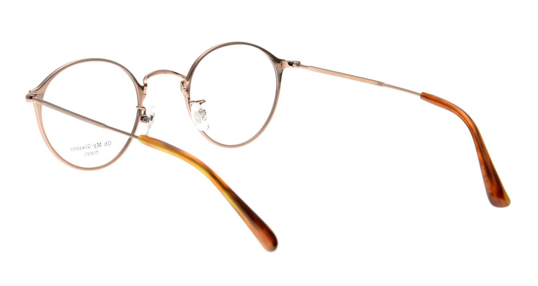 Oh My Glasses TOKYO Sandy omg-046-6-46 [メタル/鯖江産/丸メガネ/茶色]  2