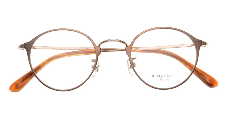 Oh My Glasses TOKYO Sandy omg-046-6-46 [メタル/鯖江産/丸メガネ/茶色]  3