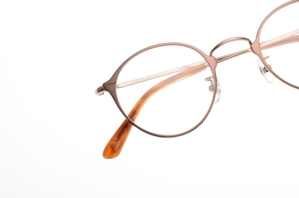 Oh My Glasses TOKYO Sandy omg-046-6-46 [メタル/鯖江産/丸メガネ/茶色]  4
