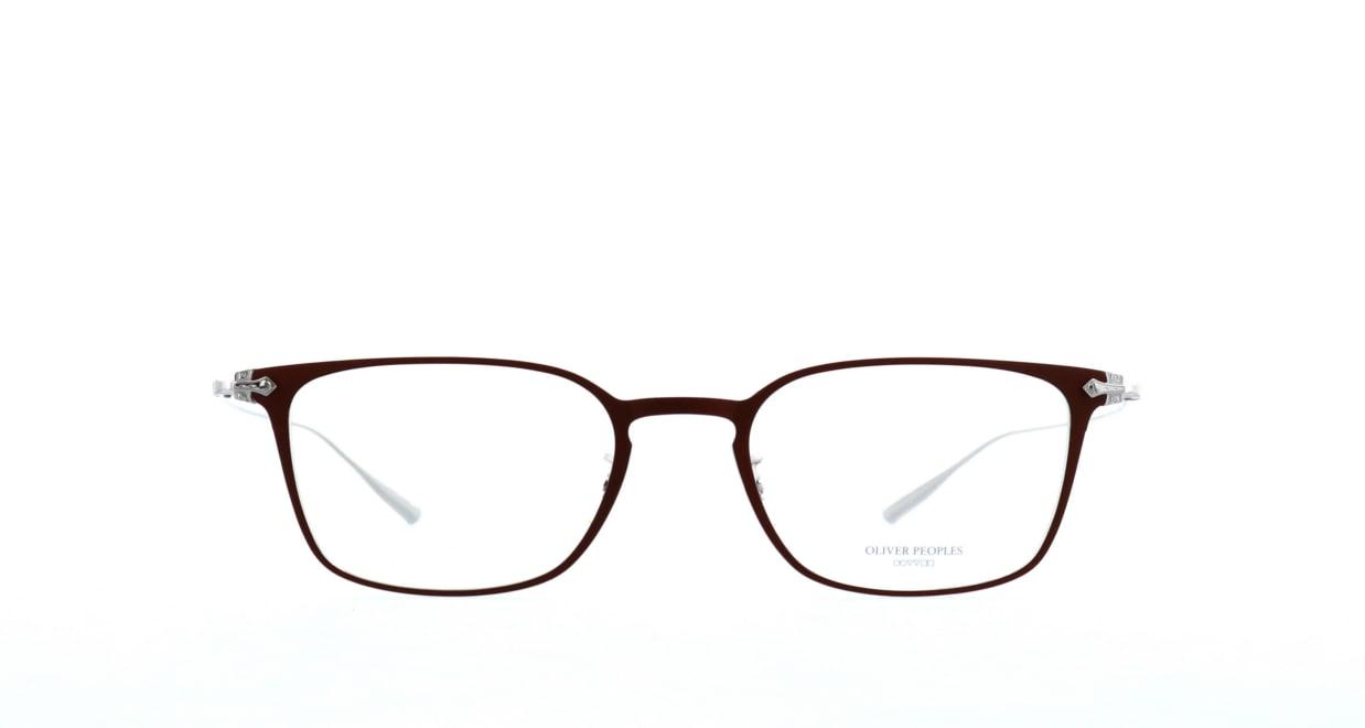 オリバーピープルズ DENIER-LBR-51 [メタル/鯖江産/ウェリントン/茶色]
