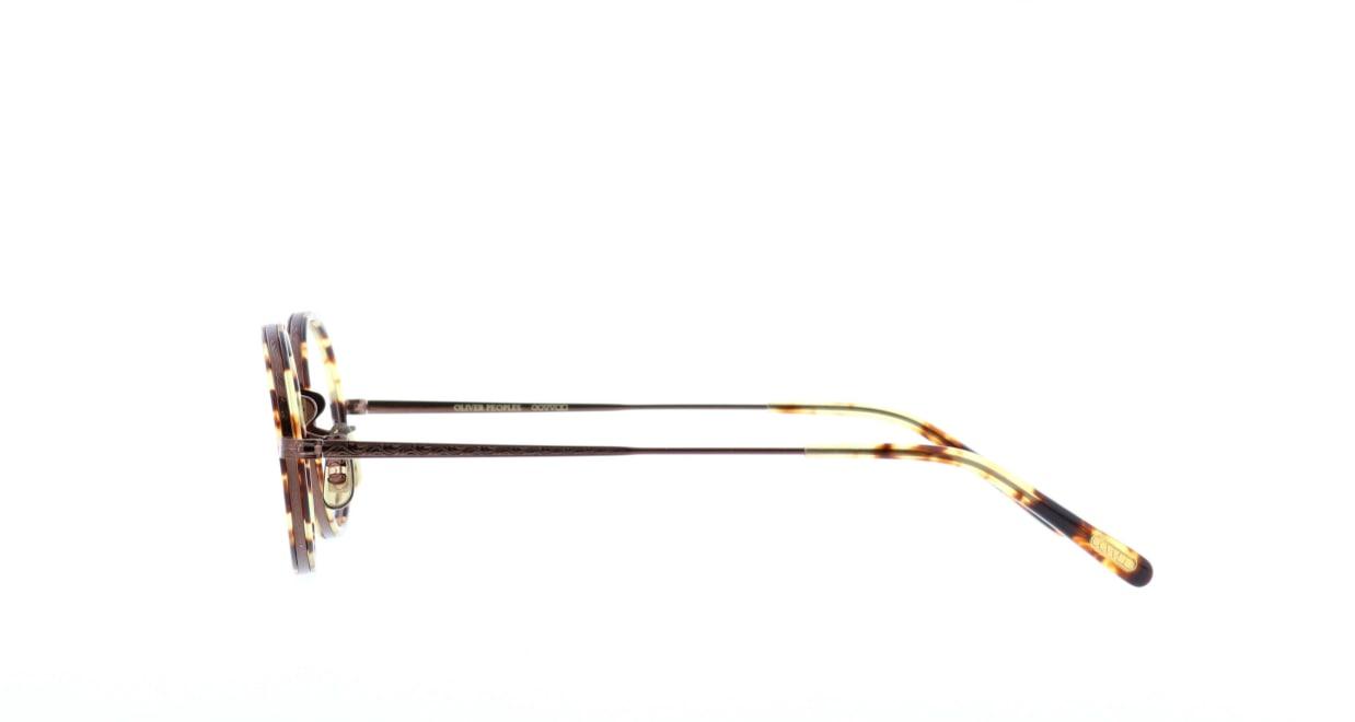 オリバーピープルズ MP-8-XL-BR [メタル/鯖江産/丸メガネ/べっ甲柄]  2