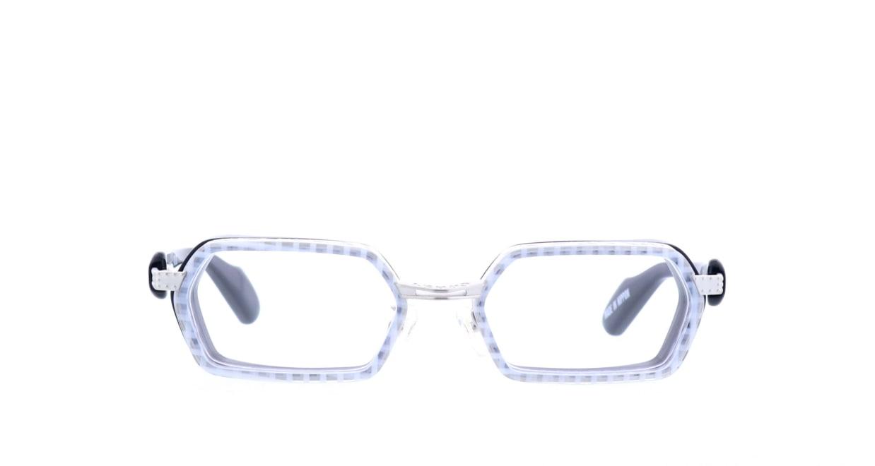 ドラスティック クレイジー G-5XX-2-56 [鯖江産/スクエア/白]