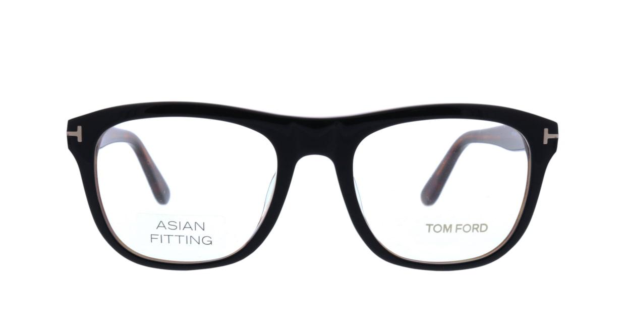 トムフォード FT5480F-001-54 ASIAN FITTING [黒縁/ウェリントン]