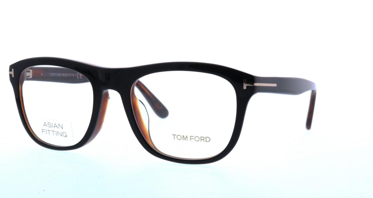 トムフォード FT5480F-001-54 ASIAN FITTING [黒縁/ウェリントン]  1