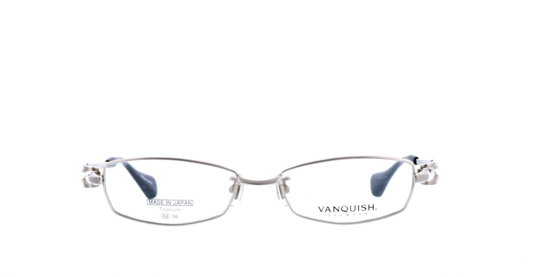 ヴァンキッシュ VQ-1010-C-1-SI [メタル/鯖江産/スクエア/シルバー]