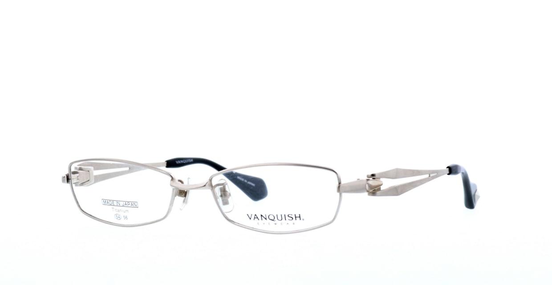 ヴァンキッシュ VQ-1010-C-1-SI [メタル/鯖江産/スクエア/シルバー]  1