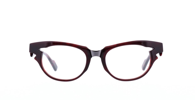 モンキーフリップ 海童-4 [丸メガネ/赤]