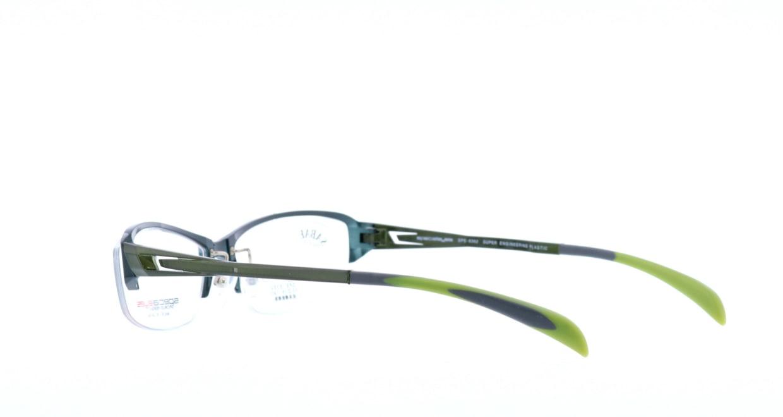 スペシャライズ SPE-8362-4-55 [メタル/鯖江産/ハーフリム/スクエア/緑]  3