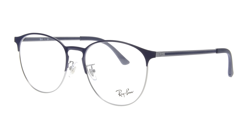 レイバン RX6375V-2981-55 [メタル/丸メガネ/青]  1