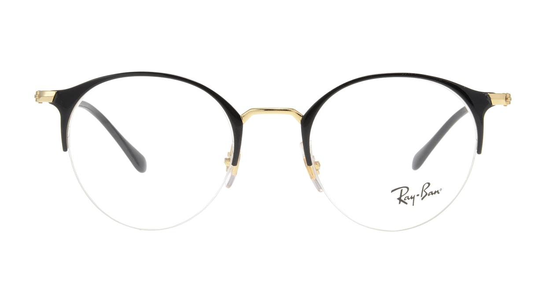 レイバン RX3578V-2890-48 [メタル/ハーフリム/丸メガネ]