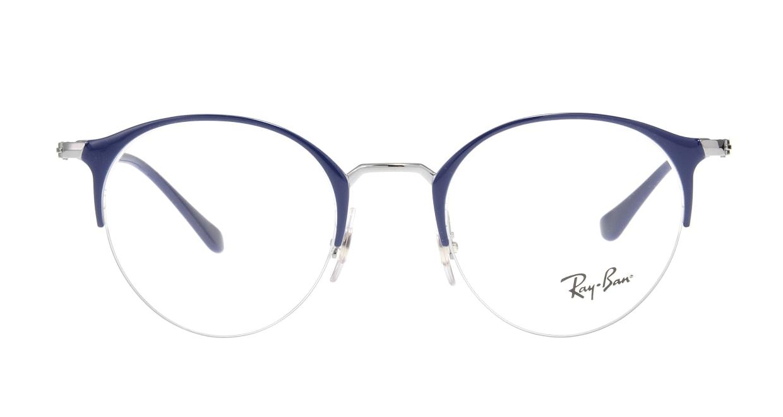 レイバン RX3578V-2906-48 [メタル/ハーフリム/丸メガネ]