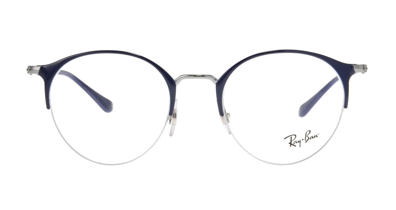 レイバン RX3578V-2906-50 [メタル/ハーフリム/丸メガネ]
