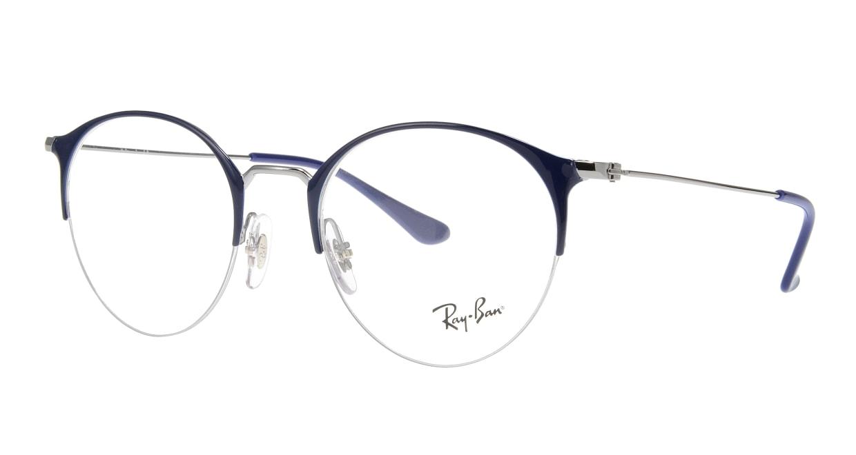 レイバン RX3578V-2906-50 [メタル/ハーフリム/丸メガネ]  1