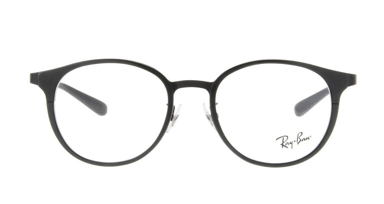 レイバン RX6372D-2894-50 [黒縁/丸メガネ]