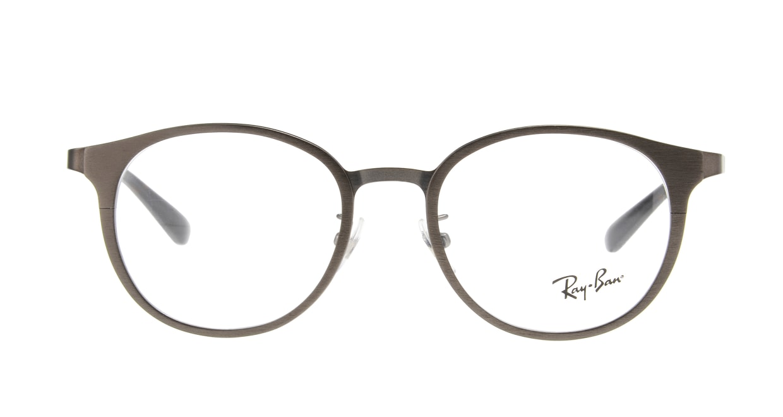 レイバン RX6372D-2895-50 [丸メガネ/グレー]
