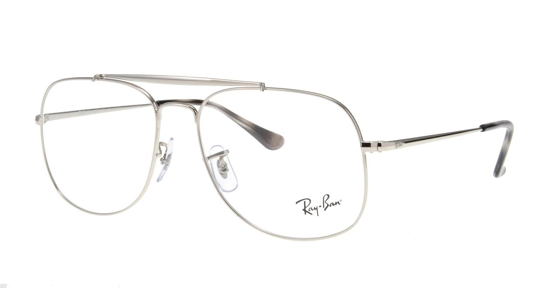 レイバン RX6389-2501-57 [メタル/ウェリントン/シルバー]  1