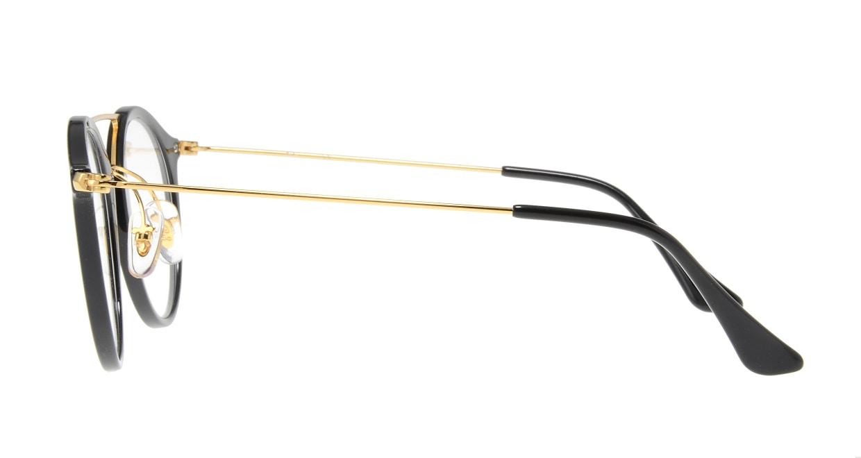 レイバン RX7097-2000-49 [黒縁/丸メガネ]  2