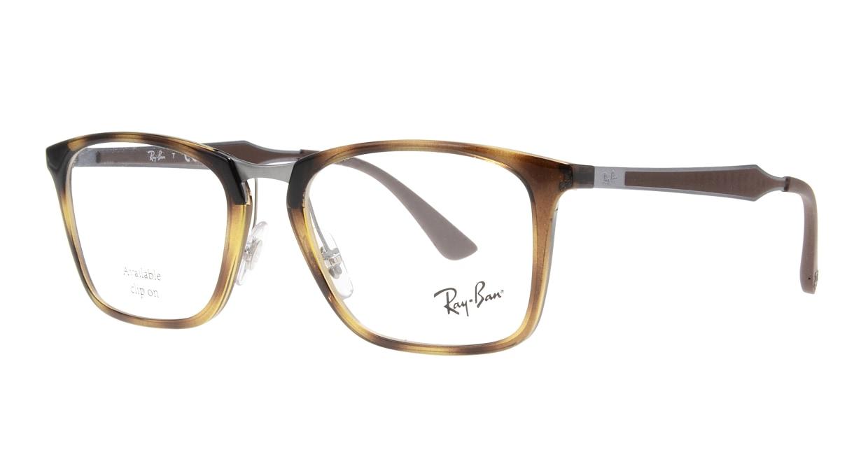 レイバン RX7131-2012-53 [ウェリントン/茶色]  1