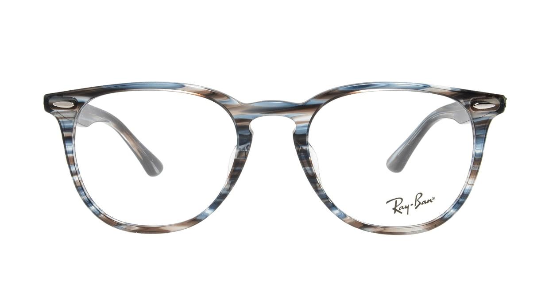 レイバン RX7159F-5750-52 [丸メガネ/青]