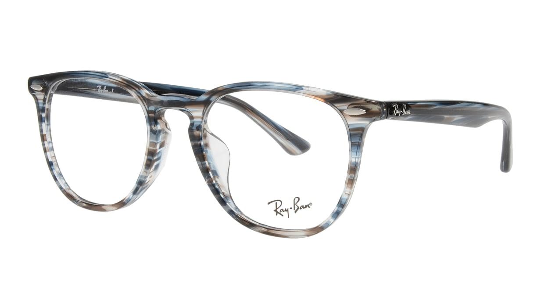 レイバン RX7159F-5750-52 [丸メガネ/青]  1