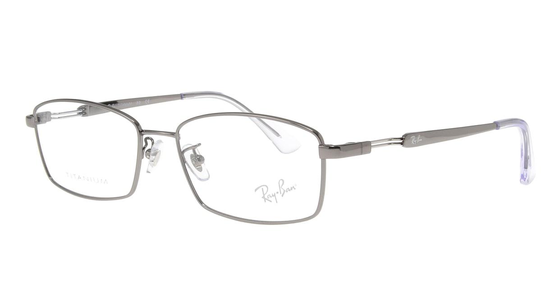 レイバン RX8745D-1000-55 [メタル/スクエア/シルバー]  1