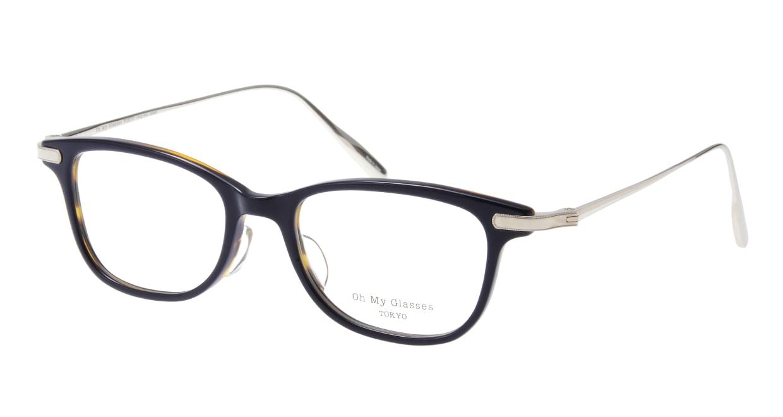 Oh My Glasses TOKYO Julian omg-066-40-20 [鯖江産/ウェリントン/青]