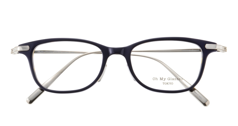 Oh My Glasses TOKYO Julian omg-066-40-20 [鯖江産/ウェリントン/青]  3