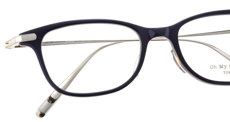 Oh My Glasses TOKYO Julian omg-066-40-20 [鯖江産/ウェリントン/青]  4