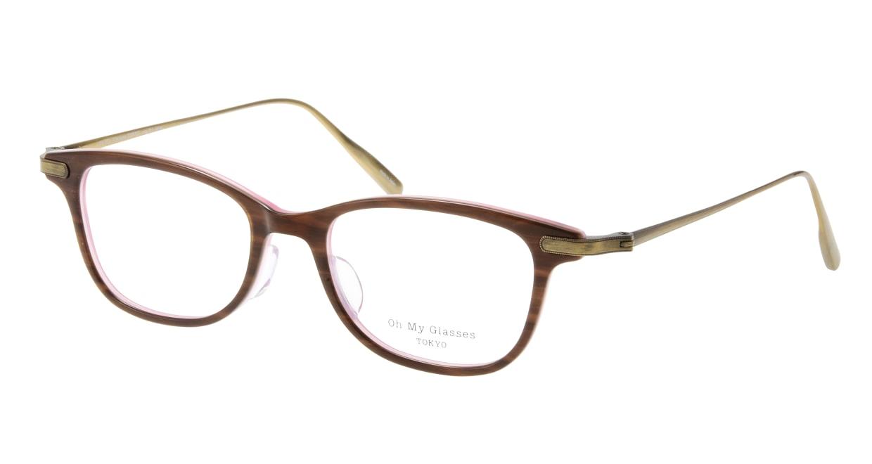 Oh My Glasses TOKYO Julian omg-066-55-12 [鯖江産/ウェリントン/茶色]