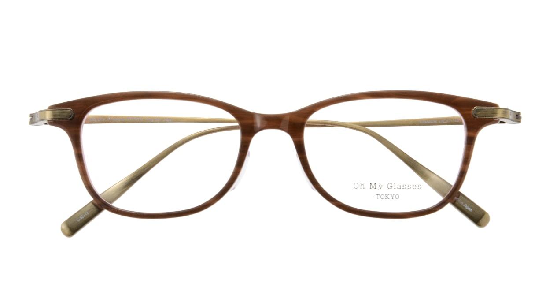 Oh My Glasses TOKYO Julian omg-066-55-12 [鯖江産/ウェリントン/茶色]  3