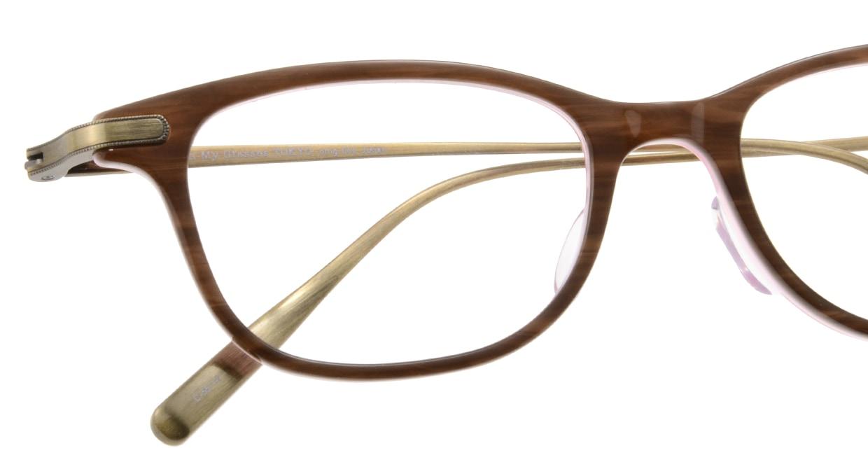 Oh My Glasses TOKYO Julian omg-066-55-12 [鯖江産/ウェリントン/茶色]  4