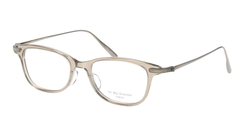 Oh My Glasses TOKYO Julian omg-066-35-21 [鯖江産/ウェリントン/グレー]