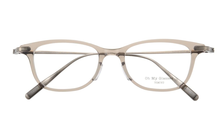 Oh My Glasses TOKYO Julian omg-066-35-21 [鯖江産/ウェリントン/グレー]  3