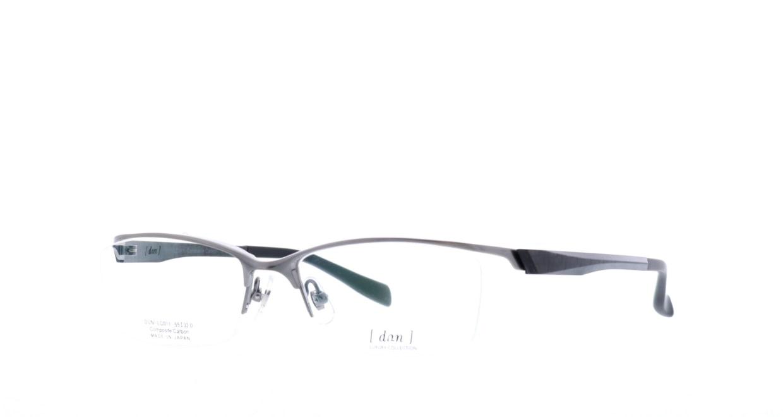 ドゥアン DLC-011-5 [メタル/鯖江産/ハーフリム/スクエア/シルバー]  1