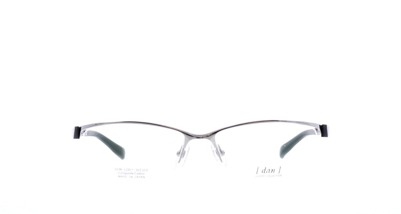 ドゥアン DLC-011-7 [メタル/鯖江産/ハーフリム/スクエア/シルバー]