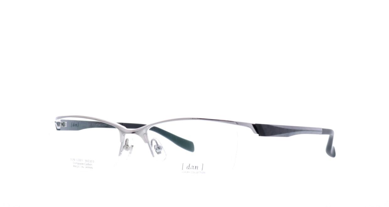 ドゥアン DLC-011-7 [メタル/鯖江産/ハーフリム/スクエア/シルバー]  1